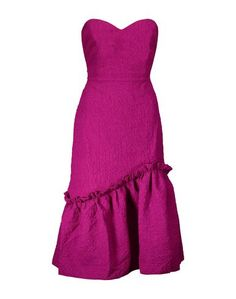 Платье до колена Saloni