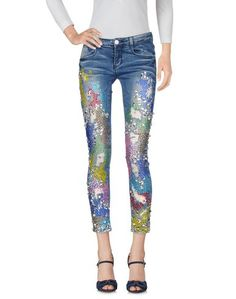 Джинсовые брюки-капри Amuse