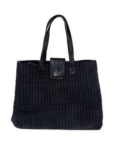 Большая сумка из текстиля Hogan BY Karl Lagerfeld