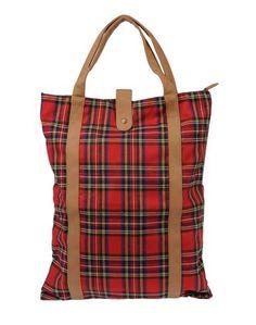 Большая сумка из текстиля Pieces