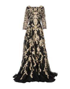 8e6e04ae110 Купить женские платья с длинным рукавом Marchesa в интернет-магазине ...