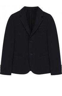 Хлопковый пиджак на двух пуговицах Dal Lago