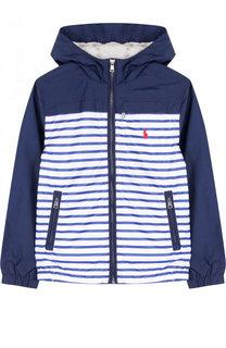 Ветровка на молнии с капюшоном Polo Ralph Lauren