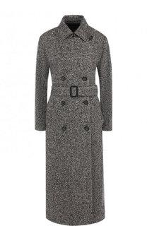 Кашемировое пальто с поясом Loro Piana
