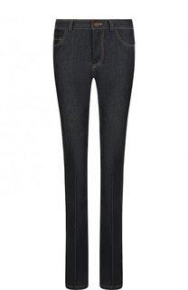 Расклешенные джинсы со стрелками и контрастной прострочкой Victoria, Victoria Beckham