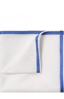 Хлопковый платок с контрастным кантом Simonnot-Godard