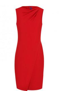 Приталенное мини-платье без рукавов Ralph Lauren