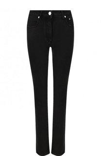 Однотонные джинсы с логотипом бренда MSGM