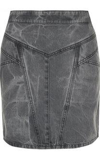 Джинсовая мини-юбка с карманами Givenchy