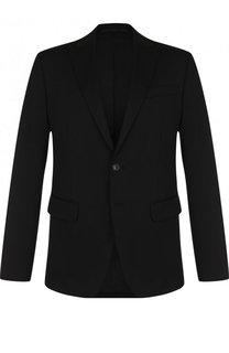 Однобортный шерстяной пиджак Dsquared2