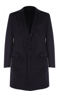 Однобортное шерстяное пальто Brioni