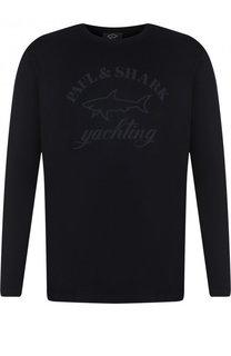 Хлопковый свитшот с принтом Paul&Shark