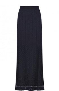 Вязаная юбка-макси из смеси шерсти и вискозы M Missoni