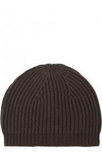 Шерстяная шапка фактурной вязки Rick Owens