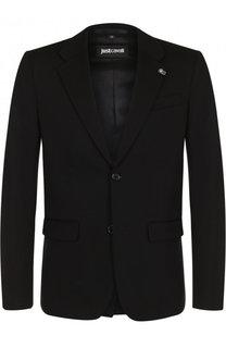 Однобортный пиджак на двух пуговицах Just Cavalli
