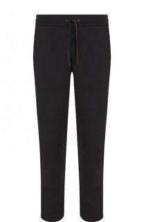 Шерстяные брюки прямого кроя с поясом на кулиске Loro Piana