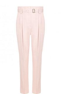 Однотонные брюки с завышенной талией и поясом Windsor