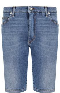 Джинсовые шорты с потертостями Dolce & Gabbana