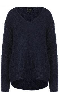 Однотонный вязаный пуловер с V-образным вырезом Rag&Bone