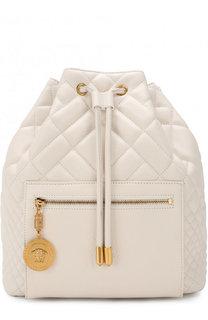 Рюкзак Tribute из стеганой кожи Versace