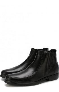 Кожаные ботинки на молнии с внутренней меховой отделкой Aldo Brue