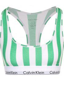 Спортивный бюстгальтер с логотипом бренда Calvin Klein Underwear