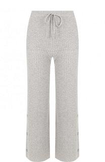 Укороченные кашемировые брюки с эластичным поясом Loro Piana