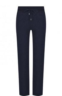Кашемировые брюки с эластичным поясом Loro Piana