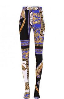 Леггинсы с ярким принтом Versace