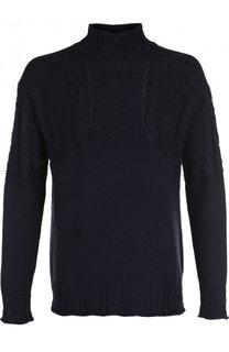 Хлопковый свитер фактурной вязки Polo Ralph Lauren