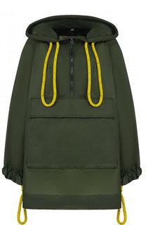 Куртка свободного кроя с капюшоном Burberry