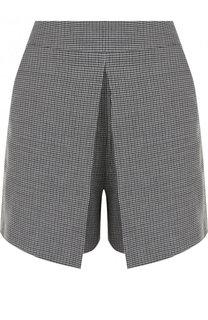 Мини-шорты с карманами в клетку Alexander Wang