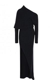 Вязаное платье-макси с высоким разрезом Roberto Cavalli