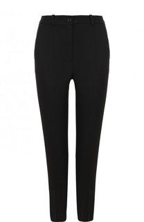 Укороченные шерстные брюки со стрелками Michael Kors Collection