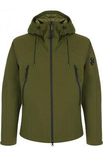Утепленная куртка на молнии с капюшоном C.P. Company