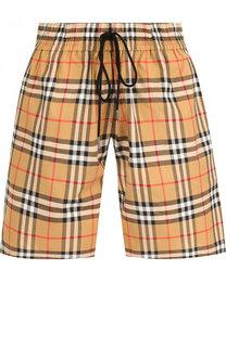 Хлопковые шорты с эластичным поясом Burberry