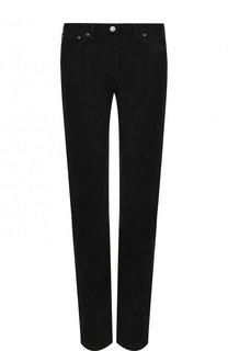 Однотонные джинсы прямого кроя Valentino