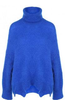 Однотонный пуловер свободного кроя с воротником-стойкой Valentino
