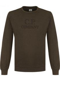 Однотонный хлопковый свитшот C.P. Company