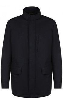 Кашемировая куртка на молнии с воротником-стойкой Brioni