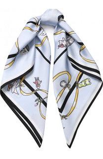 Шелковый платок с принтом Marni