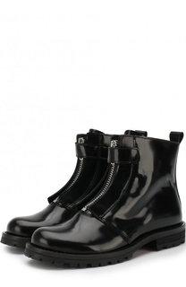 Кожаные ботинки на молнии Gallucci