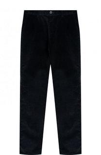 Вельветовые брюки прямого кроя Dal Lago