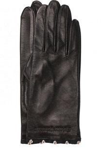 Кожаный перчатки Emporio Armani