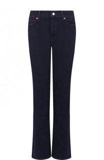 Однотонные расклешенные джинсы с контрастной прострочкой Escada Sport