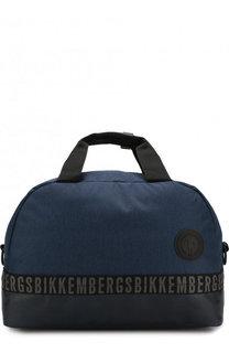 Текстильная дорожная сумка с плечевым ремнем Dirk Bikkembergs