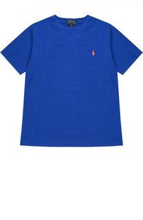 Футболка джерси с логотипом бренда Polo Ralph Lauren