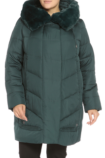 Пальто с мехом DilaMay