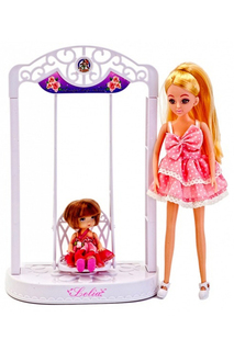 Кукла с качелями «лелия» BRADEX