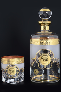 Набор для виски 7 предметов Bohemia